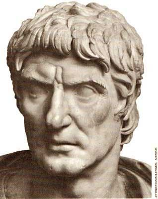 The Roman general and consul, Sulla, cast the die for the fall of the Roman Republic. Sulla was the first Roman consul to march on Rome, which he followed by an almost full seizure power over the Republic. Sulla redeemed himself in 81BC by relinquishing the powers he had seized and reinstating the Republic, but his actions were the model followed soon afterward by Julius Caesar. Julius Caesar marched on Rome in 49BC but did not reinstate the Republic and democratic rule was lost.