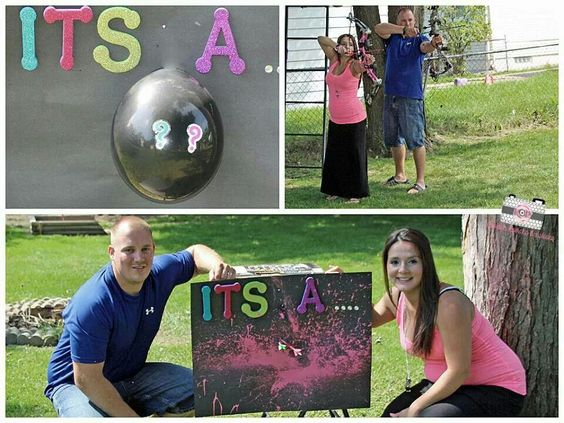 I'm anti-gender reveal parties, but this is by far the best one i've ever seen.