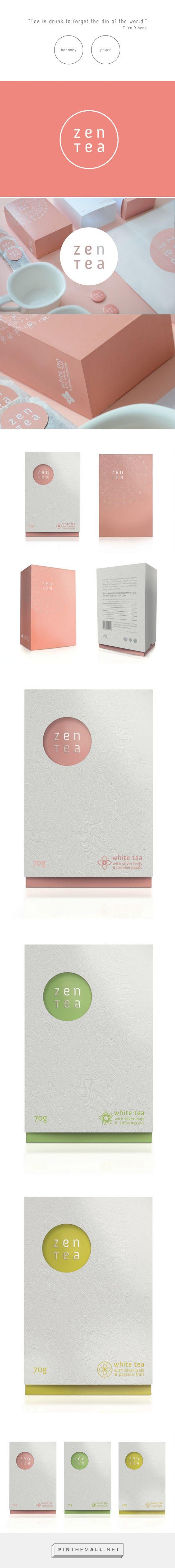 Zen #Tea #packaging #concept by Konrad Sybilski - http://www.packagingoftheworld.com/2014/12/zen-tea-concept.html