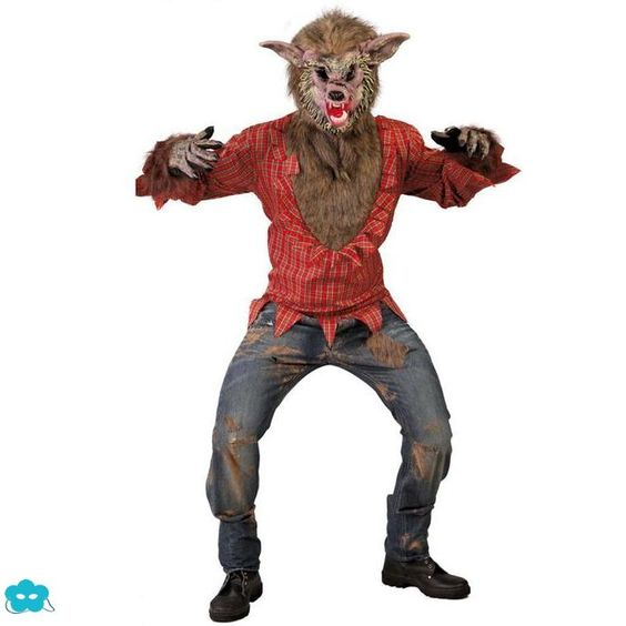 Disfraz de hombre lobo feroz para hombre