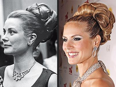 Grace Kelly Hair Updos