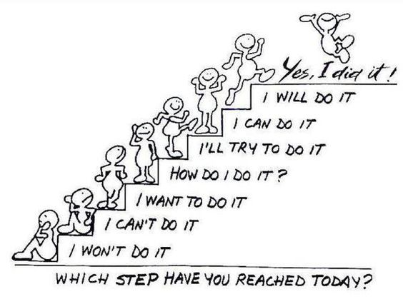 Growth mindset - stairs :)