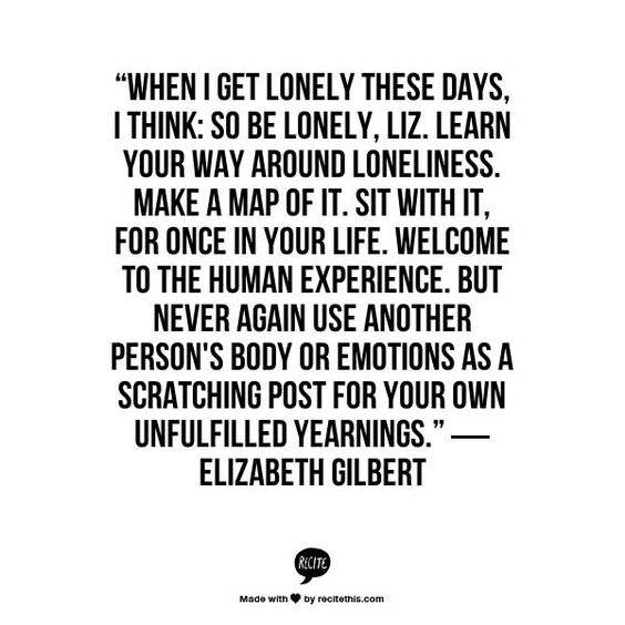 Loneliness - Inspiring Quotes: 10 Quotes To Help You Stop Stressing About Being Alone