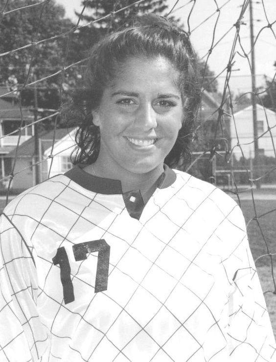 Sarah Hepp Burke '92, a Dickinson Hall-of-Famer, was a McAndrews Award winner and served as a student athletic trainer.