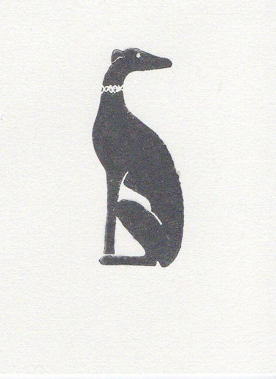 Greyhound Linocut Print 5 x 7 by WeThinkSmall on Etsy, $10.00