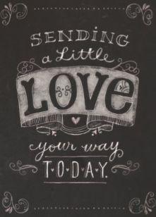 Sending a little love your way today! #Hallmark #HallmarkNL #liefde #love