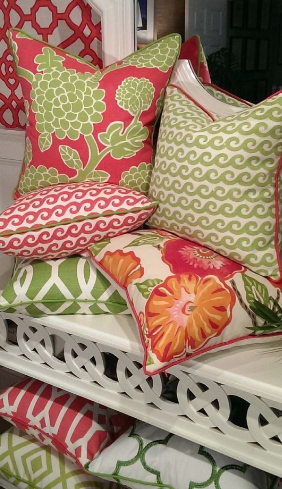 Amazing Colorful Pillows