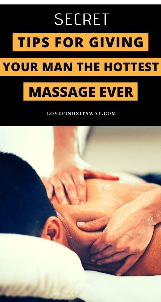 Secret service massage