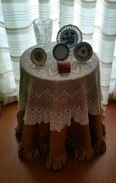 carpeta en crochet