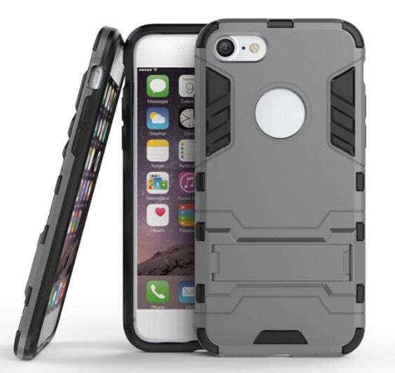 Phone 7 Case,DAMONDY Ultra War Armor Premium Built-in Kickstand Military Defender Full-body Rugged Dual Layer Case for iPhone 7(armor-black) -- Awesome products selected by Anna Churchill