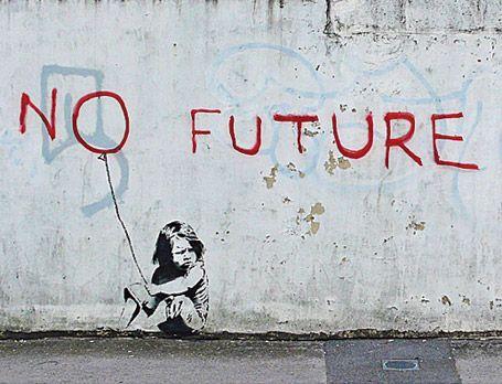 pCi-dessous, un panorama de Londres à Brighton, des insolences de Banksy. - Photo : Banksy/p