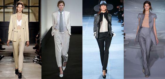 Notas gentleman. El estilo masculine-feminine revalida su poder esta temporada. www.vogue.mx/articulos/tendencia-primavera-verano-2013-estilo-masculino-femenino-gentleman/2299