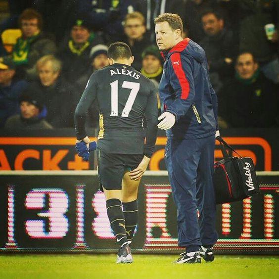 Alexis Sanchez es baja en el Arsenal
