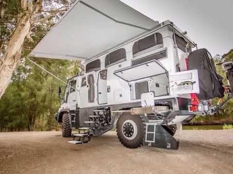 Unimog Expedition Mobile Explorer Xpr440 By Earthcruiser Youtube