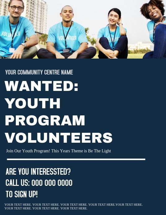 Volunteers Needed Ad Flyer Template Fundraising Poster Flyer Template Fundraising