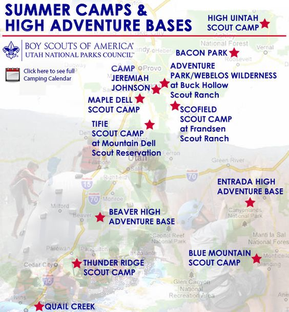 Utah National Parks Council Camps scouts Pinterest - boy scout medical form