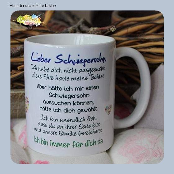 Kaffeebecher Tasse Lieber Schwiegersohn Ich Weihnachten Geschenk Schwiegersohn Kaffeebecher Geschenke