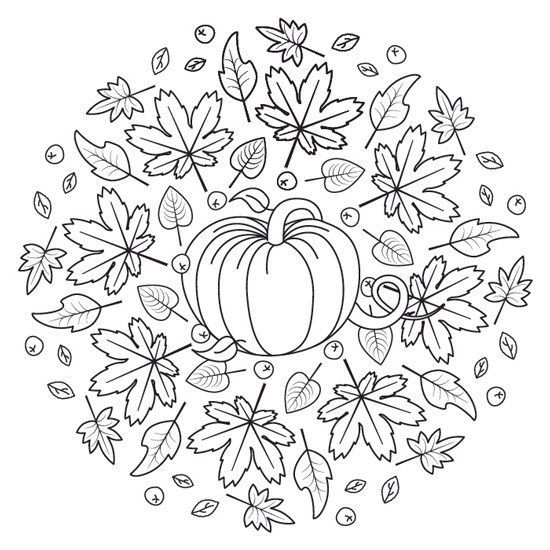 529524868688301781 Mandala Herbst Halloween Mandala Mandala Zum Ausdrucken
