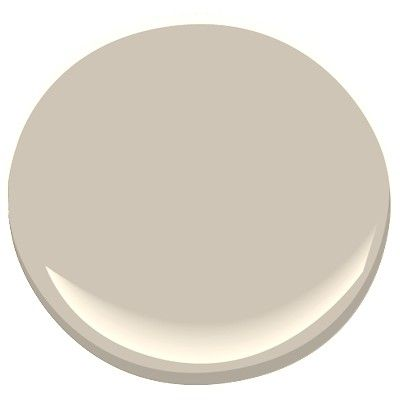 Benjamin Moore #983 Smokey Taupe  This is one tone lighter than BM #984 Stone Hearth   I'm down to two finalists...this and BM HC-172 Revere Pewter.
