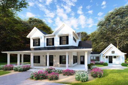 House Plan 8318 00109 Modern Farmhouse Plan 3 474 Square Feet 4 Bedrooms 4 Bathrooms Modern Farmhouse Plans Farmhouse Plans Country Style House Plans
