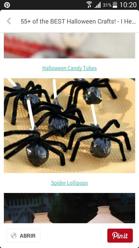 Dulces araña