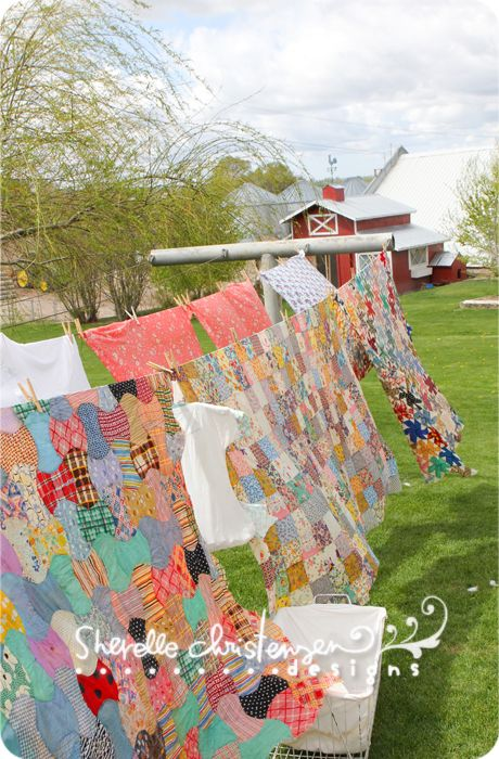Clothes line clotheslines and farms on pinterest for Country farm simples