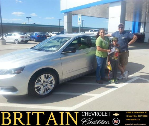 https://flic.kr/p/HRVjUS | Congratulations Carmen & James on your #Chevrolet #Impala from Mike Donahoe at Britain Chevrolet Cadillac! | deliverymaxx.com/DealerReviews.aspx?DealerCode=I827