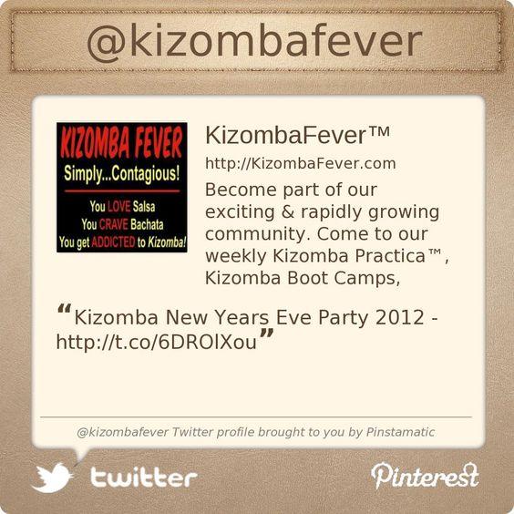 Kizomba Fever now on Twitter! Check us out http://Twitter.com/KizombaFever