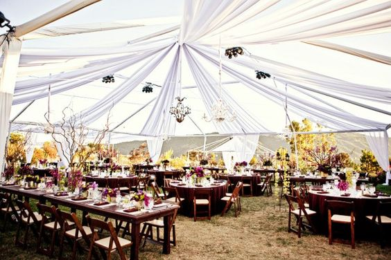 outdoor wedding, wedding tent