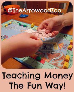The Arrowood Zoo: Teaching Money The Fun Way