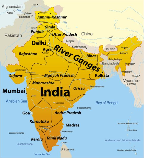 pix for where is the ganges river located on a world map places to visit pinterest world. Black Bedroom Furniture Sets. Home Design Ideas