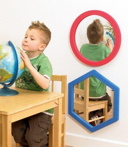 Softie wall mirror - round