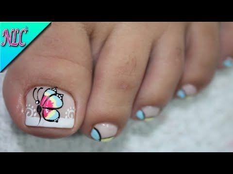 Diseo De Uas Mariposa Paso A Paso Miah Nails Blog Arte