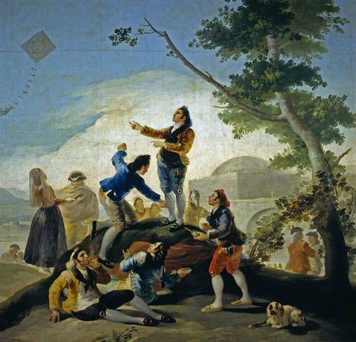 Goya en El Prado: La cometa
