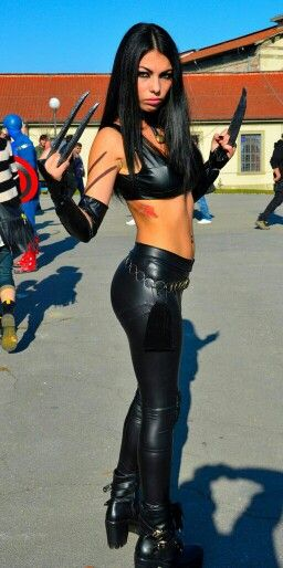 Character: X-23 (Laura Kinney) / From: MARVEL Comics 'X-23 ... X 23 Cosplay
