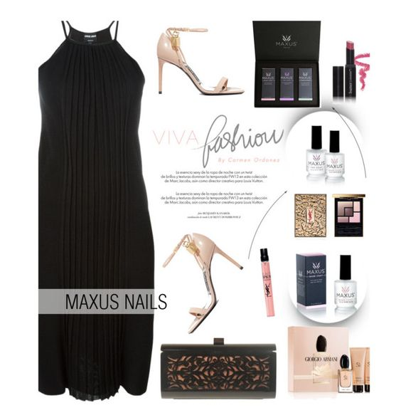 """""""Maxus Nails 3/1"""" by merima-kopic ❤ liked on Polyvore featuring beauty, Hermès, Giorgio Armani, Tom Ford, Yves Saint Laurent, Louis Vuitton, Butter London, nails, brand and maxusnails"""