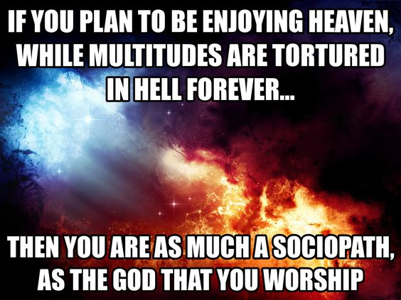 A religion for sociopaths.: