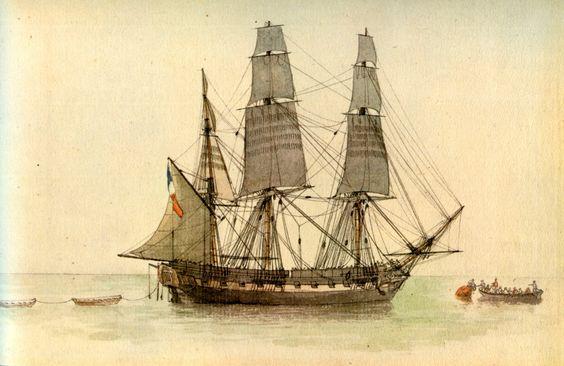 Fragata Francesa 20 cañones