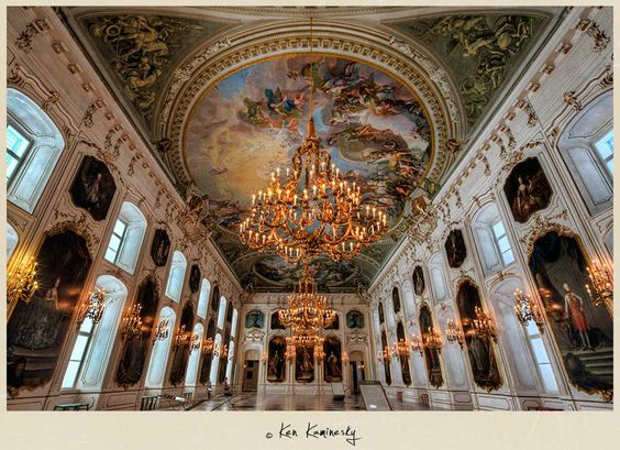 Imperial palace vienna austria inside imperial palace for Interior design innsbruck