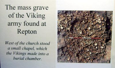 Viking army mass grave in England