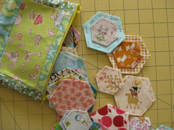 In Aneela Hoey's sewing basket
