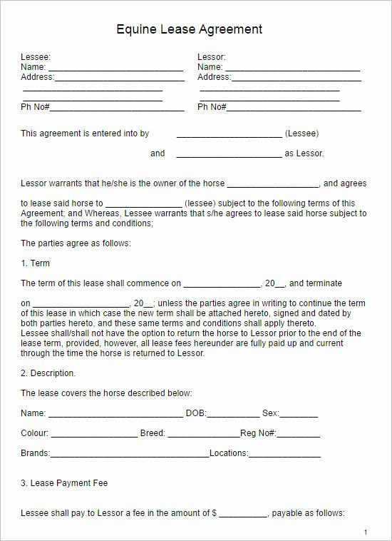 Hold Harmless Agreement Sample Wording In 2020 Lease Agreement
