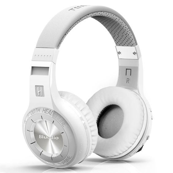 Neu BLUEDIO HT (Shooting brake) drahtlose Bluetooth 4.1 Stereo Kopfhörer (weiß)