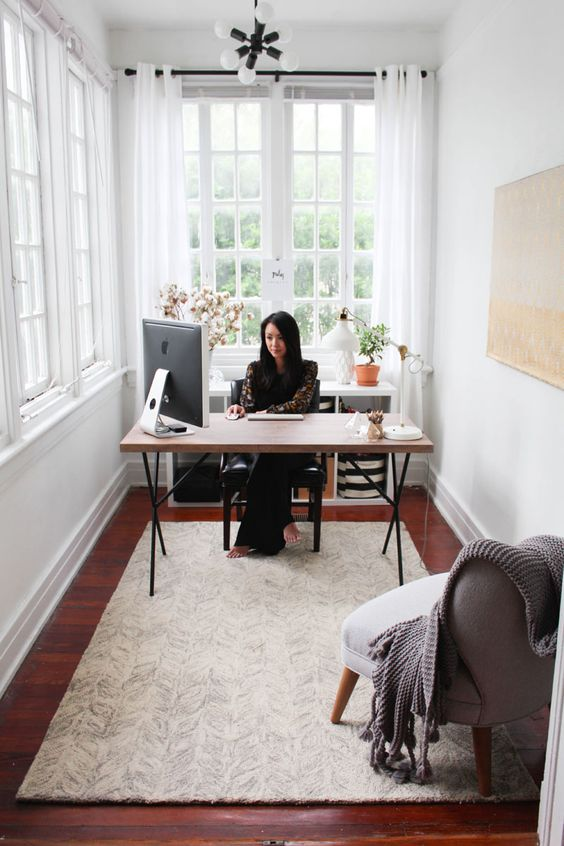 """""""Whether you're tinkering with the idea of quitting or starting something new, let it happen in an organic way. Don't be discouraged or overly influenced by what other people are doing. Remember, comparison is the thief of joy."""" - Juley Le #theeverygirl"""