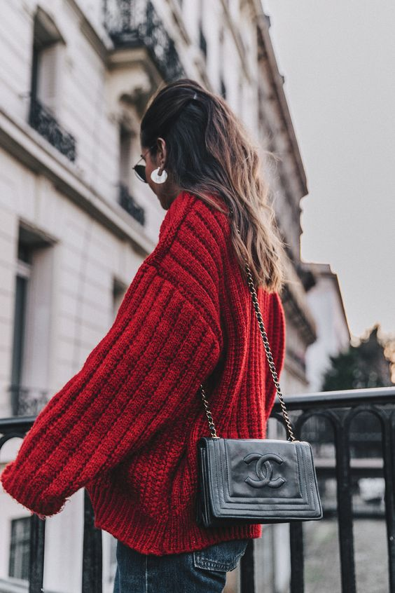 Chanel, knit sweater