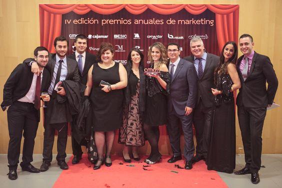 El equipo de TactilTicket en la IV Edición Premios Anuales Club de Marketing
