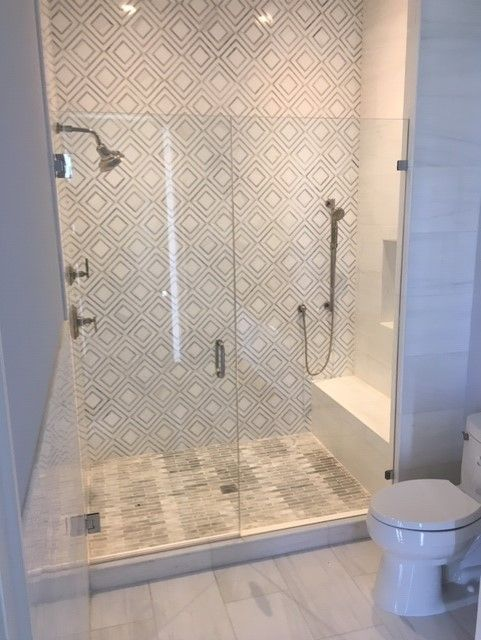 3 8 Glass Shower Door And Panel All Designed And Fabricated By