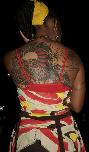 Color Tattoo On Black Skin Best 25 Dark Skin Tattoo Ideas On