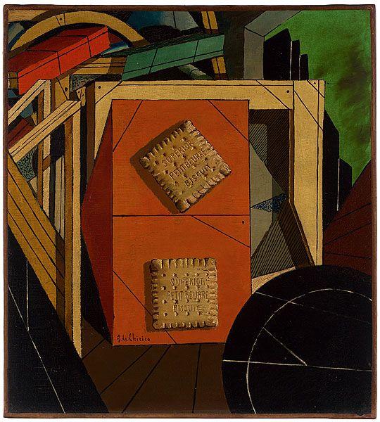 Giorgio De Chirico, Morte di un spirito, 1916  Art Experience NYC  www.artexperiencenyc.com