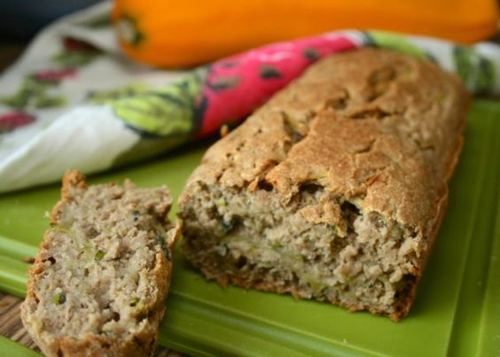 Craving for healthier bread? Having no time to ferment? This quick bread is nicely moist and perfect with tea or coffee. It's gluten-free too!